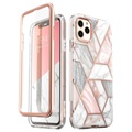 Supcase Cosmo iPhone 11 Pro Hybrid-deksel - Rosa Marmor