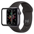 Apple Watch Series 5/4 Skjermbeskytter i Herdet Glass - 40mm - Svart