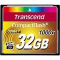 Transcend TS32GCF1000 1000X Compact Flash Minnekort - 32GB