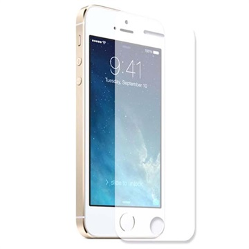 Ultra Thin Tempered Glass beskyttelsesfilm - iPhone 5/5S/ SE/5C