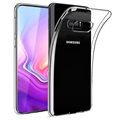 Usams Primary Color Samsung Galaxy S10e TPU-deksel - Gjennomsiktig