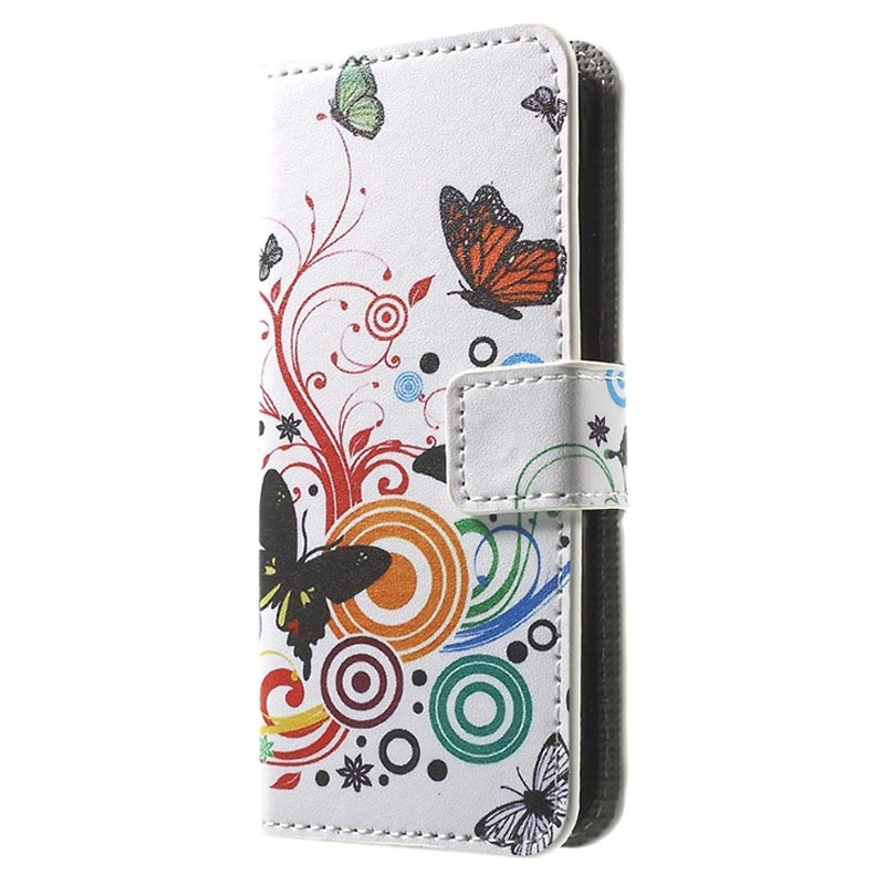 iPhone 5 5S SE Lommebok Veske