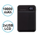 iMyMax MP11 2xUSB Powerbank - 10000mAh - Svart