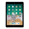 iPad 9.7 (2018) Display Glas & Touch Screen Reparasjon - Svart