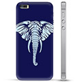 iPhone 5/5S/SE TPU-deksel - Elefant