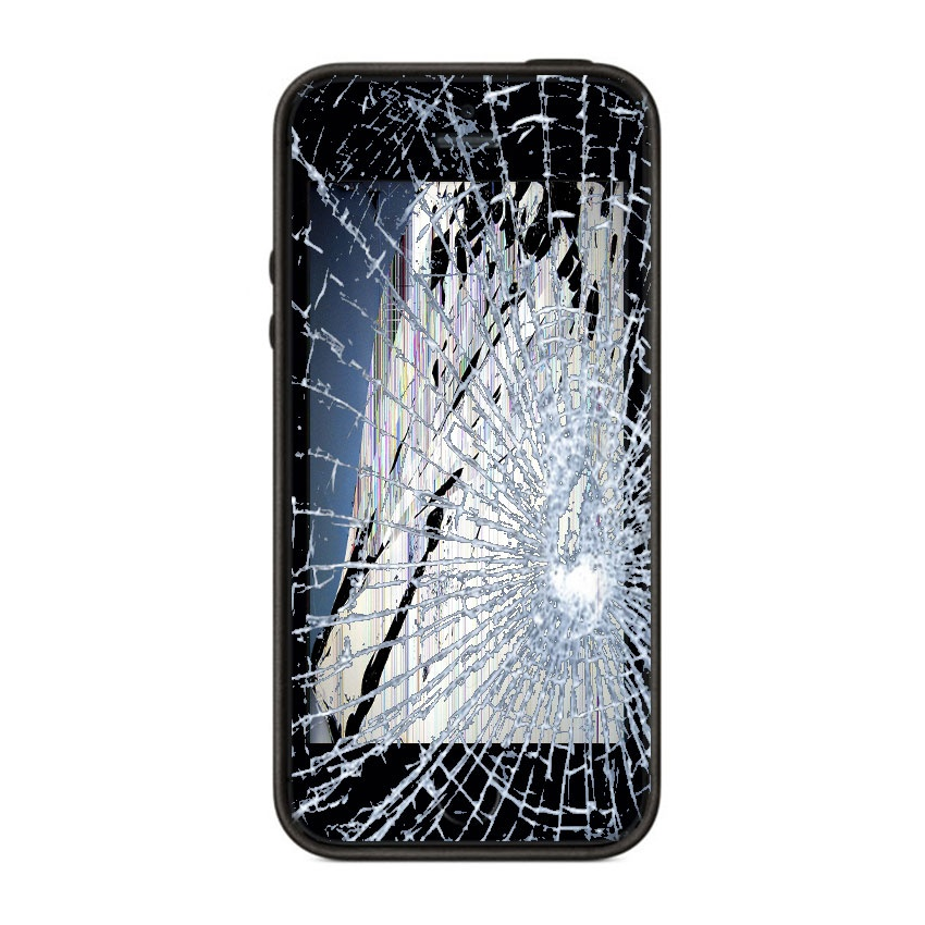 hvordan fikse knust iphone 6 skjerm