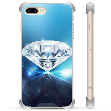 iPhone 7 Plus / iPhone 8 Plus Hybrid-deksel - Diamant
