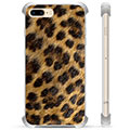 iPhone 7 Plus / iPhone 8 Plus Hybrid-deksel - Leopard