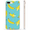 iPhone 7 Plus / iPhone 8 Plus TPU-deksel - Bananer
