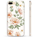 iPhone 7 Plus / iPhone 8 Plus TPU-deksel - Floral