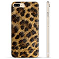 iPhone 7 Plus / iPhone 8 Plus TPU-deksel - Leopard
