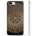 iPhone 7 Plus / iPhone 8 Plus TPU-deksel - Mandala