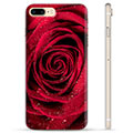iPhone 7 Plus / iPhone 8 Plus TPU-deksel - Rose