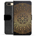 iPhone 7 Plus / iPhone 8 Plus Premium Lommebok-deksel - Mandala