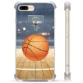 iPhone 7 Plus / iPhone 8 Plus Hybrid-deksel - Basketball