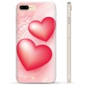 iPhone 7 Plus / iPhone 8 Plus TPU-deksel - Love