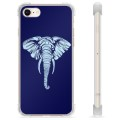 iPhone 7 / iPhone 8 Hybrid-deksel - Elefant