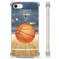 iPhone 7 / iPhone 8 Hybrid-deksel - Basketball