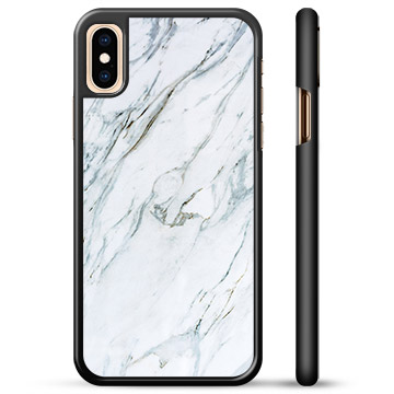 iPhone X / iPhone XS Beskyttelsesdeksel - Marmor