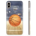 iPhone X / iPhone XS TPU-deksel - Basketball