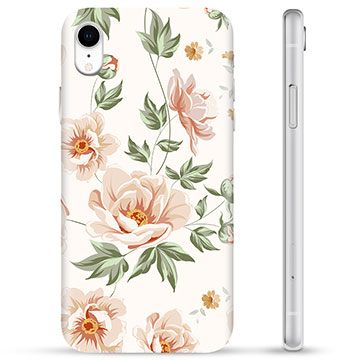 iPhone XR TPU-deksel - Floral