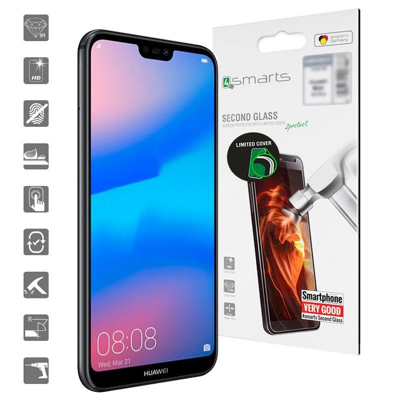 Huawei P20 Lite Skjermbeskytter i Herdet Glass Kristallklar