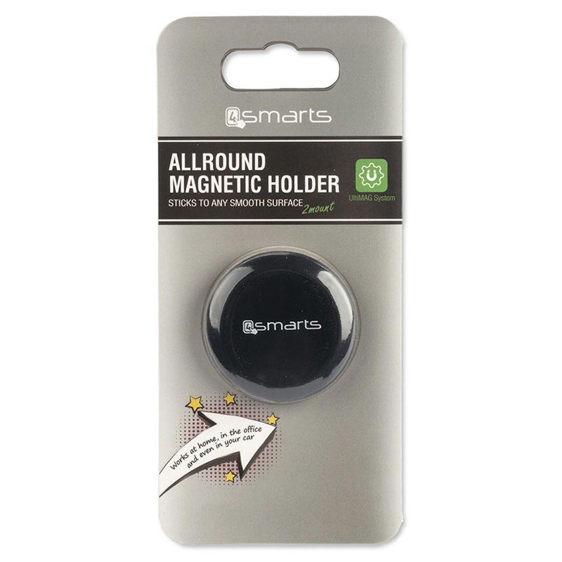 4smarts UltiMAG Allround Universell Magnetic Holder - Svart