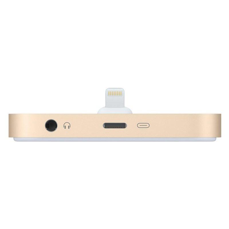 Dockingstation lader til iPhone 5,5S, 6, 6S, 6plus Gull