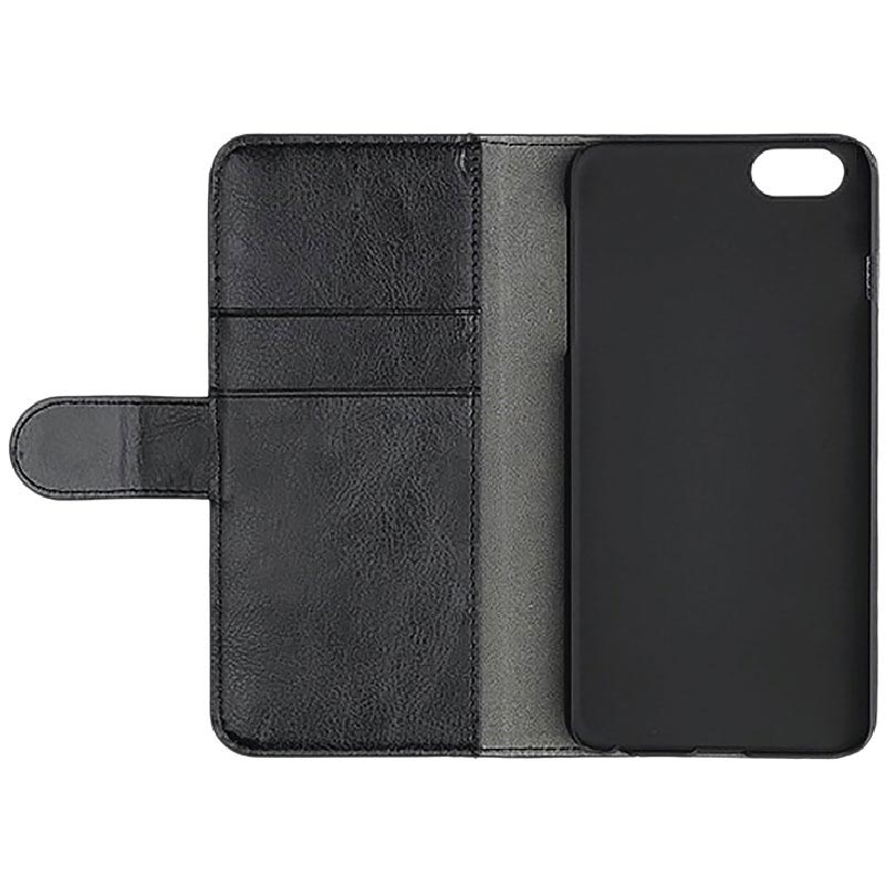 iPhone 6/6S/7/8 Essentials Lommebok-deksel - Svart