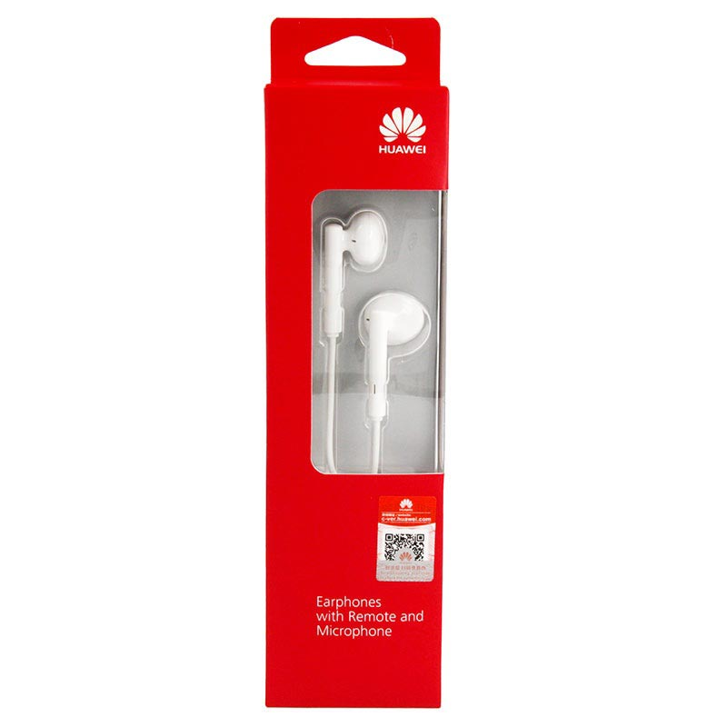 Huawei AM115 In-Ear Stereo Headset - Hvit