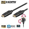 Goobay High Speed HDMI-kabel med Ethernet - Roterbar - 3m