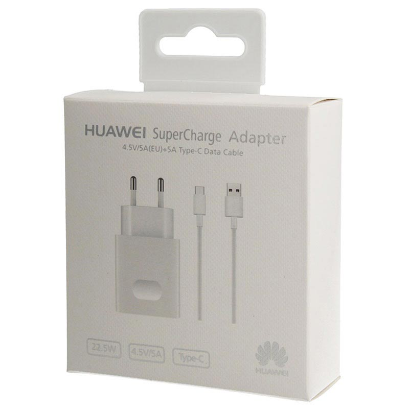Huawei SuperCharge USB Type-C Vegglader AP81 - 4.5A