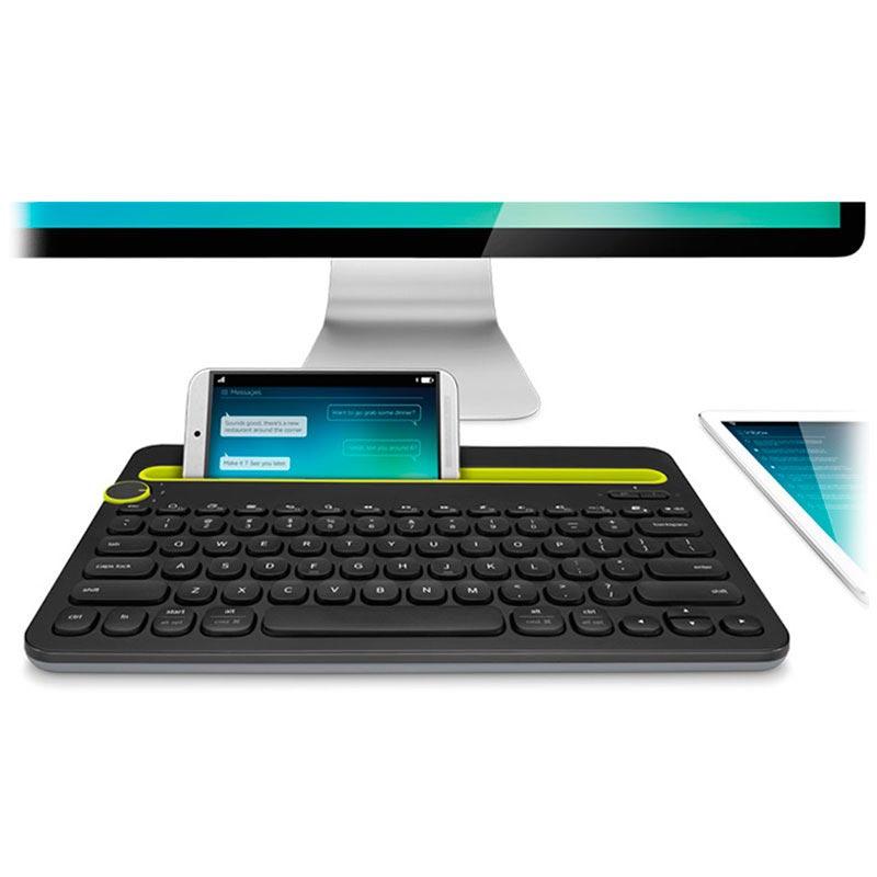 Logitech K480 Bluetooth Black Nordic Tastatur Nordisk