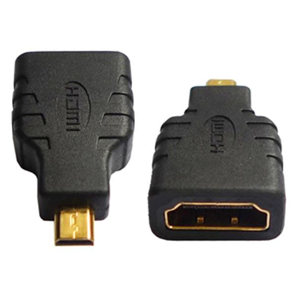 Micro HDMI Type D Han / HDMI Type A Hun Adapter
