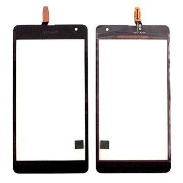 Microsoft Lumia 535 Display Glass & Touch Screen - Svart - Versjon TP2