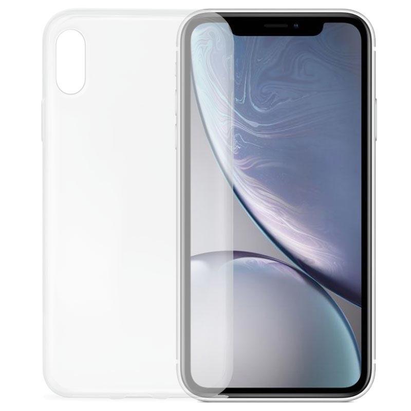 Puro 0.3 Nude iPhone XR TPU-deksel - Gjennomsiktig