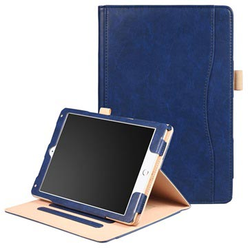 Retro Smart Folio-etui - iPad 9.7, iPad Air 2, iPad Air - Mørkeblå