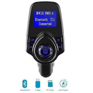 Af modish Kjøp T11 bluetooth FM sender og billader | MyTrendyPhone FA54