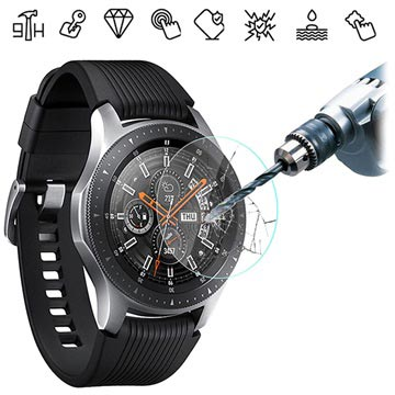 Samsung Galaxy Watch Skjermbeskytter i Herdet Glass - 46mm