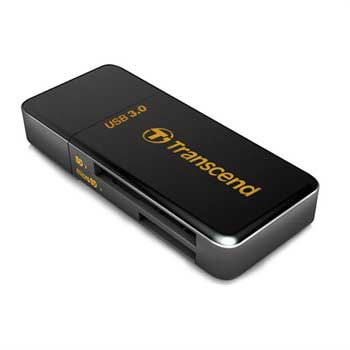 Transcend SuperSpeed USB 3.0 RDF5 Kortleser