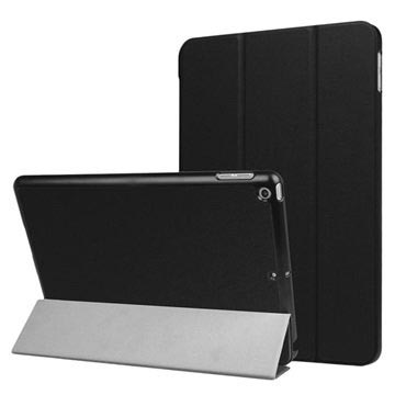iPad 9.7 2017/2018 Tri-Fold Smart Folio-etui - Svart
