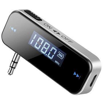 Unik Kjøp Universell 3 5mm FM sender | MyTrendyPhone FV99